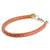 Faux leather wristband bracelet, 'Stylishly Fresh' - Handmade Faux Leather Wristband Bracelet from Guatemala (image 2c) thumbail