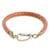 Faux leather wristband bracelet, 'Stylishly Fresh' - Handmade Faux Leather Wristband Bracelet from Guatemala (image 2d) thumbail