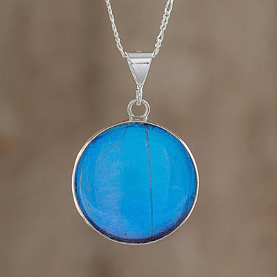 DiamondJewelryNY Ill Hold You in My Heart Pendant with a Aqua Swarovski Stone on an 18 Inch Chain