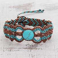 Braided wristband bracelet,
