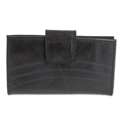 Eco-Friendly Recycled Rubber Wallet from El Salvador