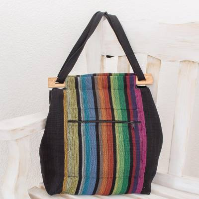 Cotton tote, Striped Party