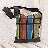 Featured review for Cotton shoulder bag, Island Fiesta
