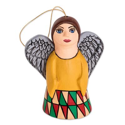 Ceramic Angel Hanging Ornament Form Nicaragua