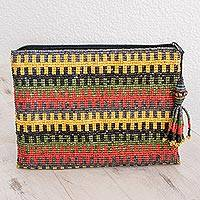 Ceramic beaded clutch,