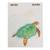 Recycled paper journal, 'Beneath the Ocean' (5.5 inch) - Sea Turtle Journal with Recycled Paper (5.5 in.) (image 2a) thumbail