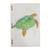 Recycled paper journal, 'Beneath the Ocean' (8 inch) - Sea Turtle Journal with Recycled Paper (8 in.) (image 2a) thumbail