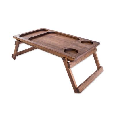 Unicef Market Handmade Wood Folding Bed Tray From Guatemala Sweet Awakening