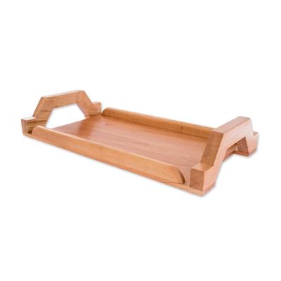 Handmade Cedar Wood Tray Crafted in Guatemala