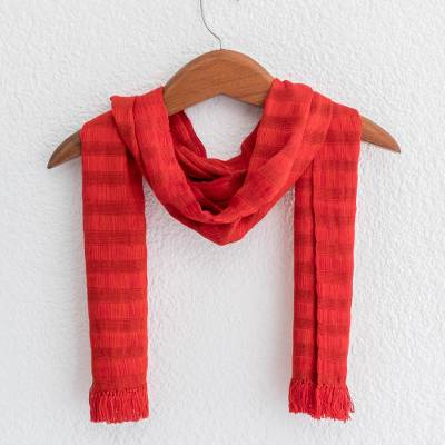 Cotton scarf, Subtle Passion