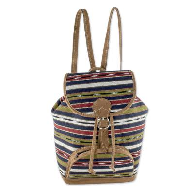 Artisan Crafted All Cotton Unisex Backpack