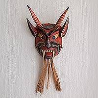 Wood mask, 'Bearded Devil'