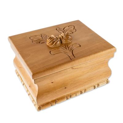 Guatemalan Lined Cedar Wood Decorative Box