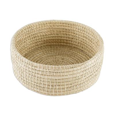 Hand Woven Yagua Palm Basket