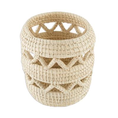 Small Hand Woven Basket