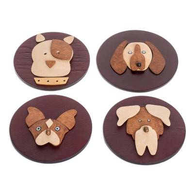 Artisan Crafted Dog Themed Magnets