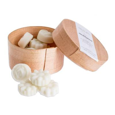 Flower-Shaped Scented Soy Wax Melts (Set of 10)