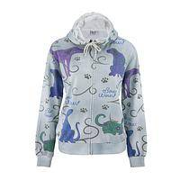 Dazzling Dogs - Fancy Canines Colorful Lightweight French Terry Hoodie