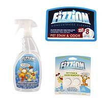 The Power of CO2 - Non-Toxic Formula Fizzion Pet Stain and Odor Remover