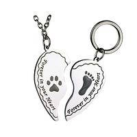Bond Unbroken  - Stainless Steel Pet Tag and Necklace Set