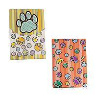 The Patter of Paws - Paws Galore䋢 Covered Memo Pad (60% Recycled Paper)