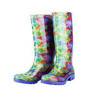 Brilliant Freedom  - Multi-Colored Autism Awareness PVC Rain Boots