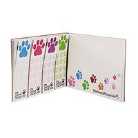 Paws for a Sticky Note - Notes to Go Paws Galore Recycled Sticky Pads