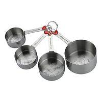 Full Measure of Love - Stainless and Enamel Love-Filled Measuring Cup Set of 4