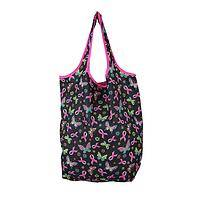 Breast Cancer Totes (Set of 3) - Pink Ribbon Support Shopping Bags