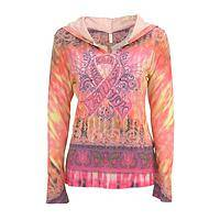 Perfectly Pink - Pink Ribbon Themed Ladies' Hooded Top