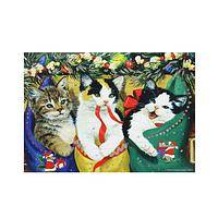 Hung By The Chimney Kittens - Kitten Themed Advent Calendar