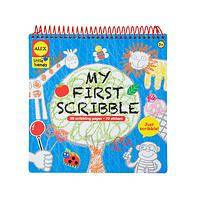 For Your Budding Picasso - Alex Spiral-Bound My First Scribble Activity Sticker Book