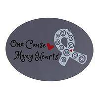 Loving Cause - United Hearts Diabetes Awareness Car Magnet