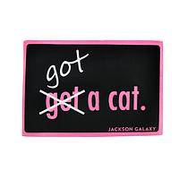 Gotta Get a Cat - Jackson Galaxy Got A Cat Rubber Indoor/Outdoor Mat