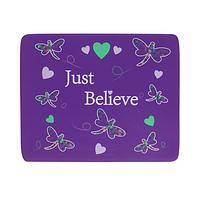 Just Believe - Cheerful Mousepad of Dragonflies