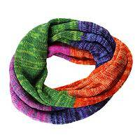 Color in the Cold - 100% Alpaca Infinity Scarf