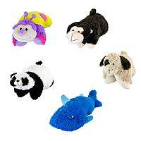 Plush Animal Hugs - Delightful Stuffed Animal Pillow Pal Toys For Ages 3 & Up