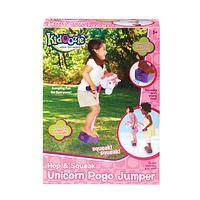 Unicorn Pogo Stick - A Unicorn Style Pogo Jumper That Hops and Squeaks About