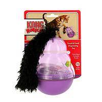 Play Time Favorite - KONG Wobbler Cat Activity Toy and Treat Dispenser