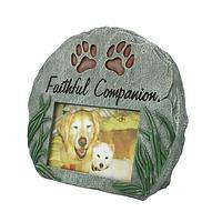 Tribute to Friendship - Melamine Pet Garden Memorial Stone