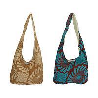Free Spirit - Sling Bag Fashioned From Organic Cotton Waxcloth