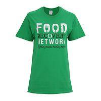 Hunger Buster - T-Shirt Featuring Food Recovery Network Logo