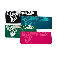 Flight of Fancy - Fashionable Clutch Featuring Butterfly Motif
