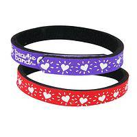 Relevant Reflections - Red or Purple Hearts Adjustable Lightweight Cat Collar