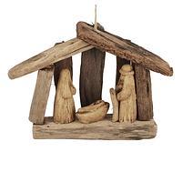 Driftwood Nativity - Nativity Set from Upcycled Driftwood