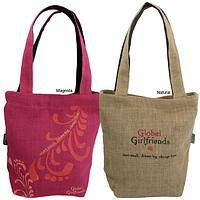 Start Small, Change Lives - Free Trade Charitable Jute Shopping Bags