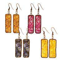 Agave Wow, Now - Handmade agave fiber ultra-chic eco-fashion earrings