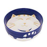 The Cat's Meow - Contented Kitty Porcelain Soup Bowl