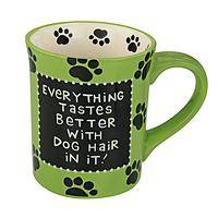 Hairy Humor - Comical Dog Lover's Mug