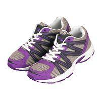 Purple Paw Crosstrainers - Animal Welfare Support Walking Shoes